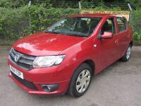 Dacia Sandero 0.9 Laureate TCe 5DR (cinder red) 2014