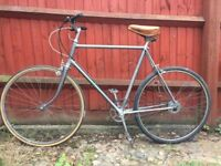 "Retro Vintage Bike 24"" frame"