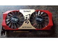 GPU Graphics Card 2gb Palit Jetstream Geforce GTX 760