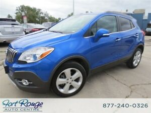 2015 Buick Encore Leather AWD - NAVIGATION/SUNROOF