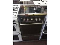 Stainless steel 50cm LPG gas cooker grill & oven good condition with guarantee