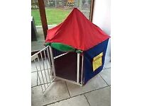 Baby Dan playpen with mat and tent