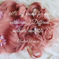 CERTIFIED HAIR EXTENSIONS TECH ! 40% OFF PROMO !!