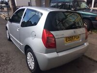 CITROEN C2 1.4 DIESEL 2005-REG LOW TAX ONLY £20 a YEAR WOW VERY ECONOMICAL CAR