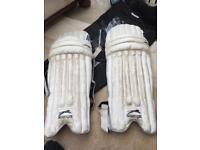 Pair of Slazenger cricket pads
