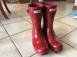 Hunter Rubber Boots size 10