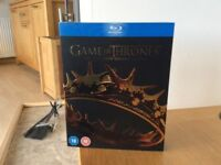 Two box set DVD's for sale - Game of Thrones Season 2 and Taken (sci fi)