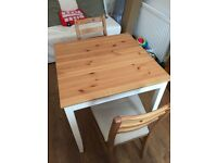 Small Ikea Kitchen Table and 2 Chairs