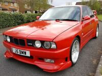 BMW M5 Maxpower Edition E34 3.5 litre Manual Fully Kitted Electric Pack Collectors Car £16,995