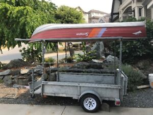 Galvanized Steel Utility Trailer For Sale