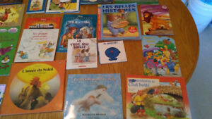 26 children's books in French