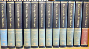 Britannica Full Encyclopedia Set w/ 18 Science Yearly's
