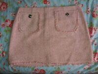 Pink Skirt, River Island