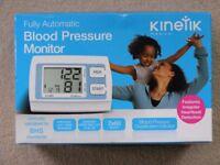 Kinetik Fully Automatic Blood Pressure Monitor: Brand new and unused