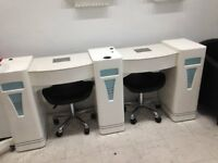 used Manicure table