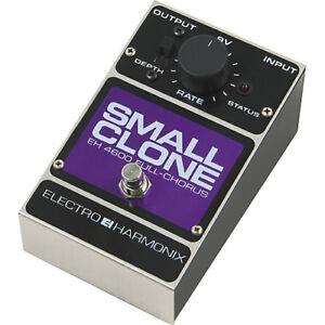 je recherche un Small clone electro harmonix j'offre 2 pedal