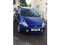 Lovely Ford Sport KA 1.6 in Blue . Exceptional low miles 34,650 . Same family since 2006 MOT July 18