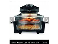 Tower Actifry low fat halogen oven comes with instructions, no box