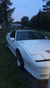 1989 Trans Am GTA *** trade For Street bike***