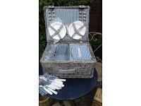 Lovely new picnic basket