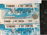 Creamfields x 2 four days standard camping for sale