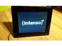 Intenso 8'' digital photo frame LIKE NEW – plugged in only once