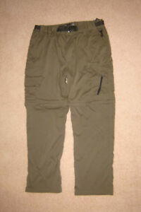 Zip-Off Pants, Under Armour Shorts - sz L, Jeans sz 34