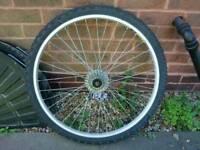 Bike wheel & tyre