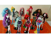 Monster high boundle Never been in play