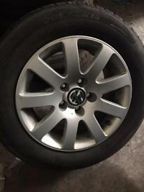 "SET OF 4 GENUINE VW 15"" ALLOY WHEELS"
