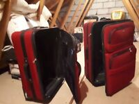 2 Tripp Suitcases (red)
