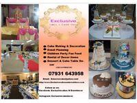 Cake and Event Decor