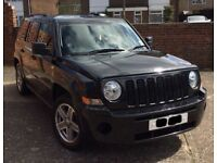 BLACK, 2008, JEEP PATRIOT, DIESEL BELT CHANGED, Turbo just been replaced. 12 months MOT- £3750