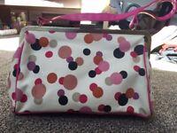 NEW Accessorize Spotty Bag