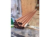 Copper Pipe 54mm x 3m
