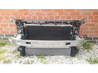 Audi S5 Radiator- A.C intercooler + Radiator + Fan + Bumper Bar