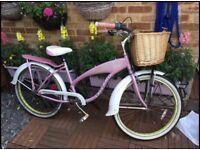 Ladies Pink bike