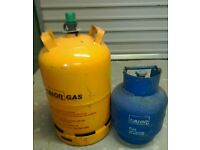 Gas cylinders for sale.