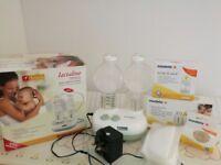 Ameda Lactaline Dual Electric Breast Pump