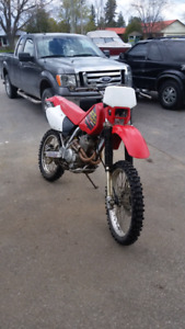 Honda Xr250R (Sold As Is )