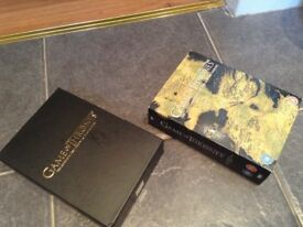 Game of thrones series, 1,2 and 3 box set.