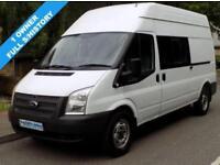 62(12) FORD TRANSIT 350 LWB MESS / UTILITY / WELFARE VAN 2.2 RWD 125 BHP EURO 5