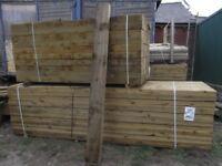 Timber sleeper 200mmx100mmx2.4m