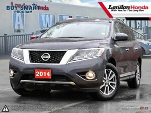 2014 Nissan Pathfinder SV All-Wheel Drive, Clean CarProof Report