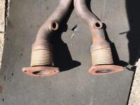 VW Mk4 Golf/Bora 4motion V6 exhaust down pipes.