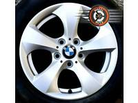"16"" Genuine BMW, Renault Trafic, Vauxhall Vivaro alloys 6 sets excell premium tyres."