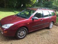 Ford Focus Estate Ghia 1800 petrol