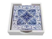 Set of 4 Moroccan design coasters - brand new