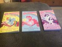 My little pony books x3