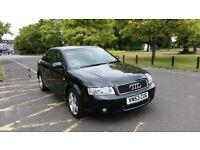 2003 Audi A4 2.0 FSI SE 4dr (CVT) Automatic HPI Clear Full service History @ 07725982426@